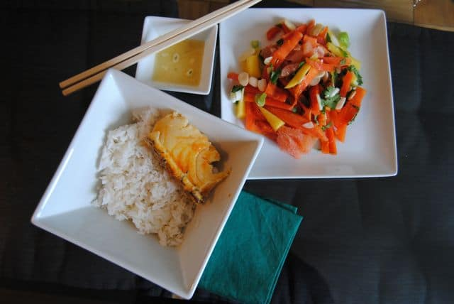 Asian diet rice