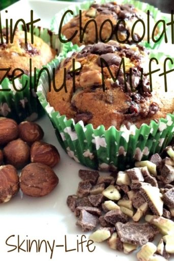 Mint Chocolate Hazelnut Muffins, Calorie Counting & Giveaway