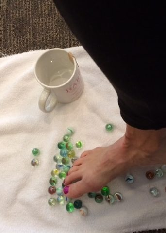 Physical Therapy, Can You Pick Up Marbles With Your Toes?