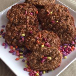 Sunflower Oat Muffins