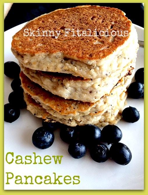 cashew pancakes