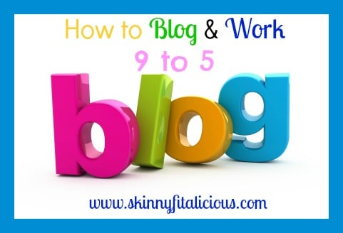 Blog word from colored three-dimensional letters.