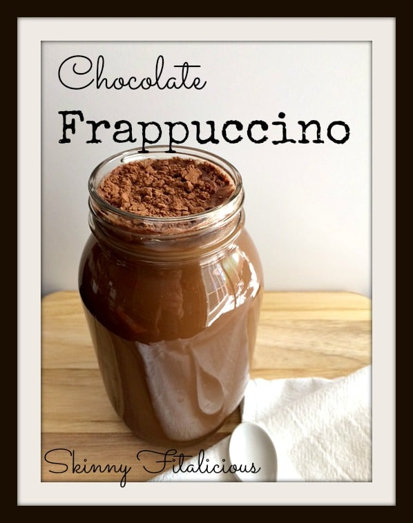 chocolate frappuccino