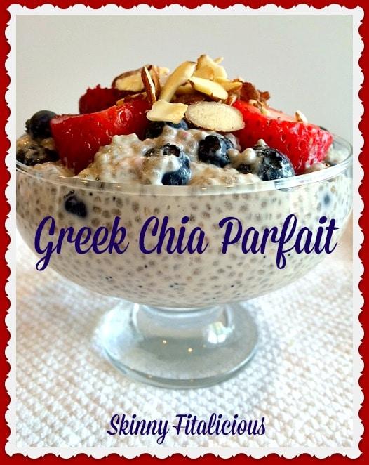 greek chia pudding