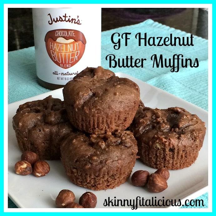 hazelnut butter muffins