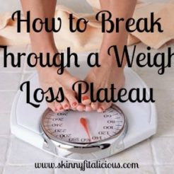 How to Break Through Weight loss Plateau