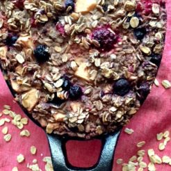 Very Berry Apple Baked Oatmeal