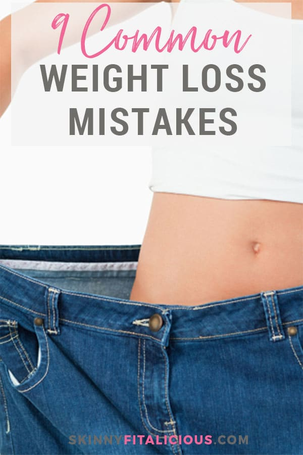 Manyof us have been there. Struggling to lose weight. Unsure where things went wrong and why we're not seeing results. Here are the 9 most common weight loss mistakes that will help you progress and reach your goals.