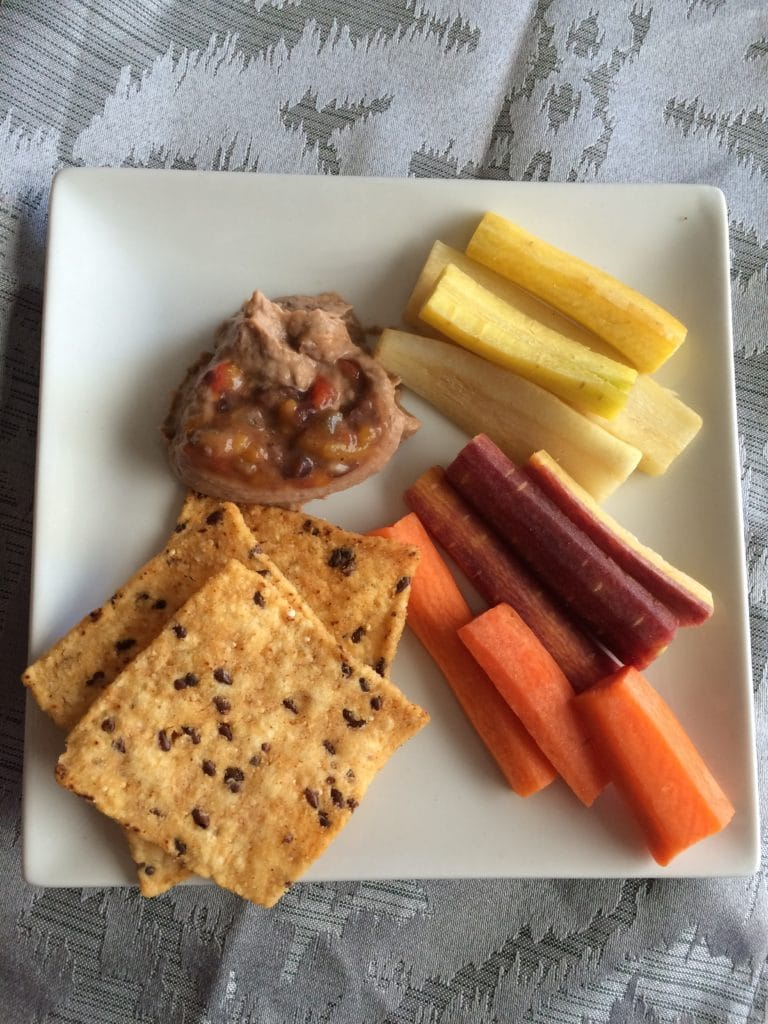 snack plate