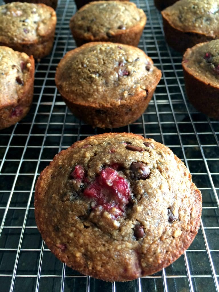 raspberry_choc_low_calorie_muffins