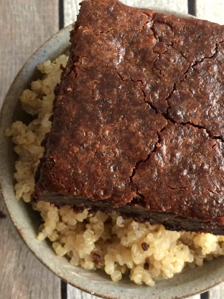 Quinoa Breakfast Brownies Recipe — Dishmaps