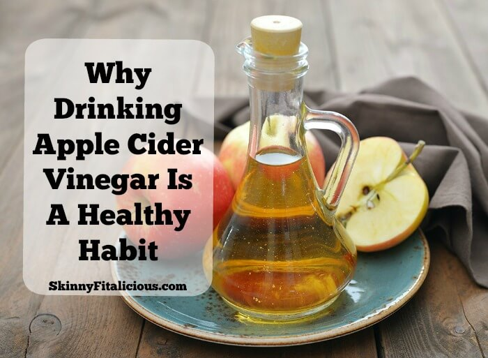 A few months ago, a reader asked how I drink my apple cider vinegar (ACV) so I thought I'd tell you more about.