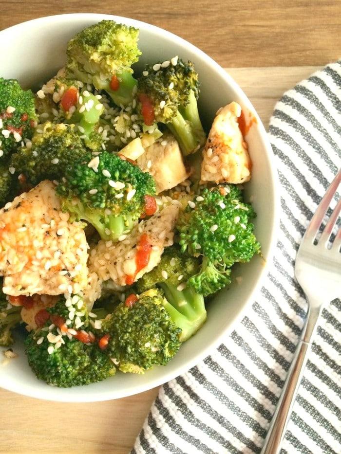 Asian Sesame Chicken & Broccoli