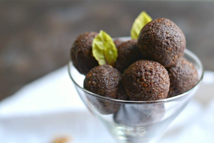 Grain Free Chocolate Walnut Truffles