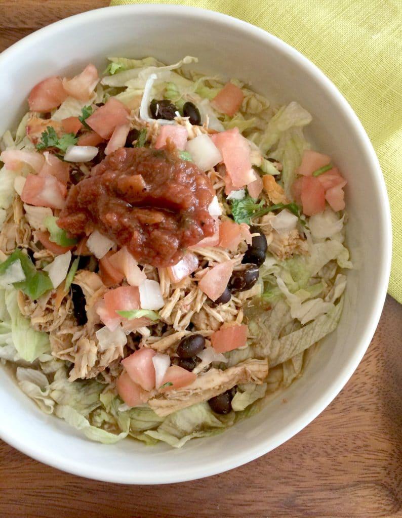 lunch-chicken-black-beans-salad