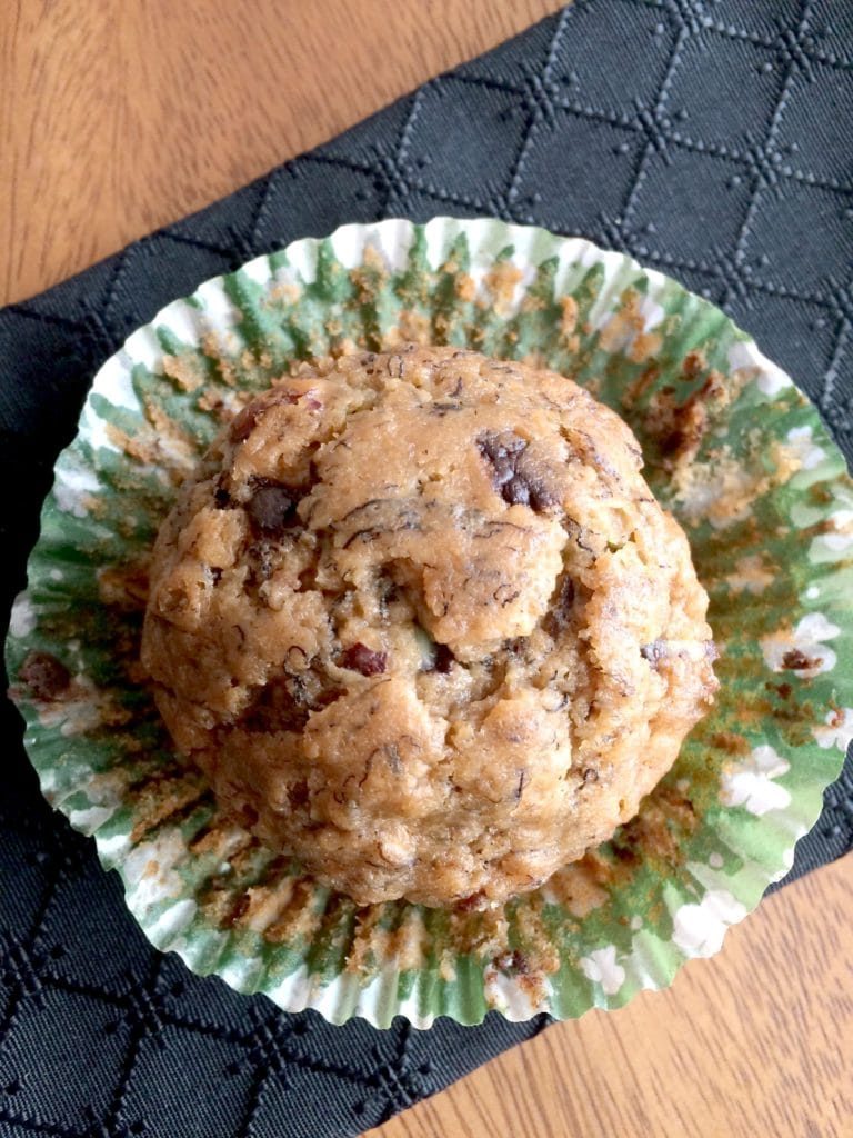 mint-chocolate-hazelnut-muffin