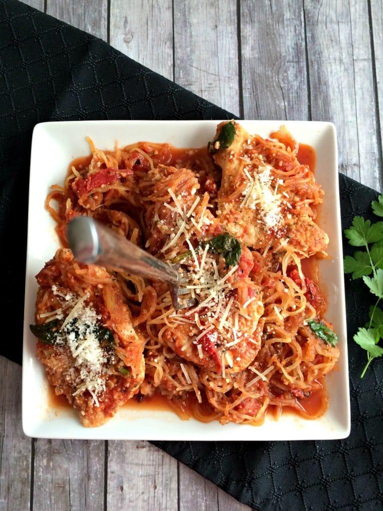 skinny-chicken-parmasean-spaghetti-squash