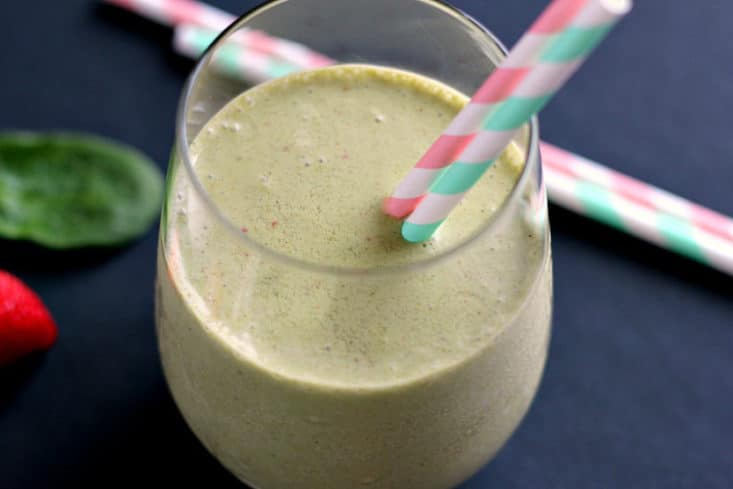 strawberry-peanut-butter-green-smoothie6