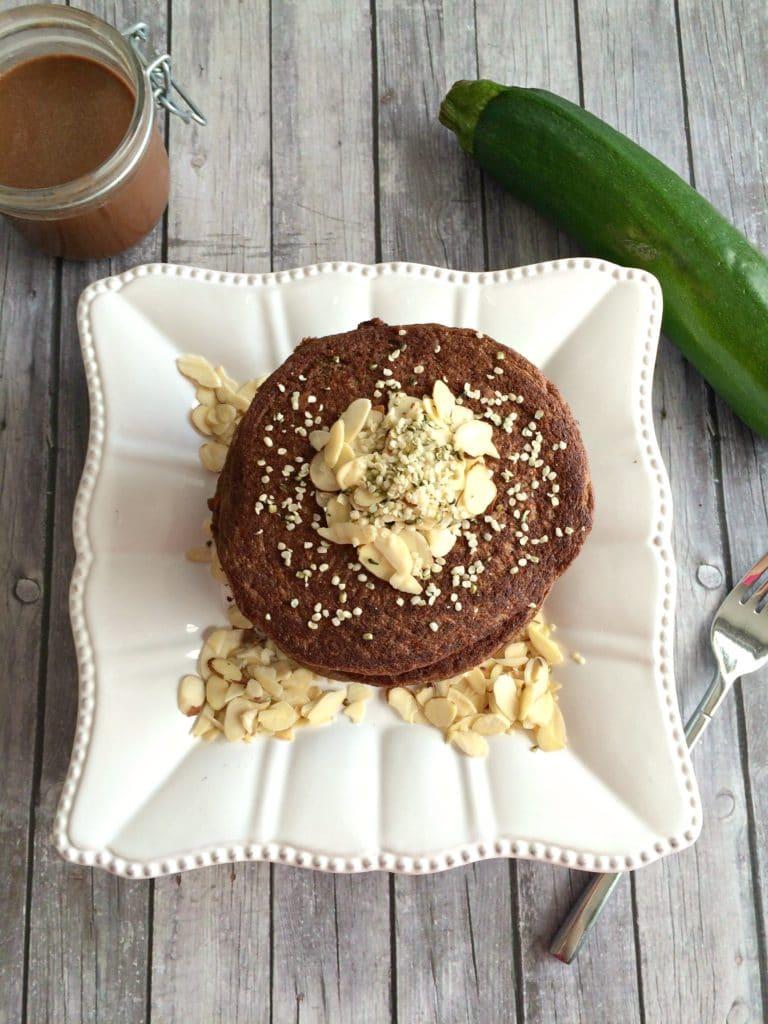 zucchini-chocolate-pancakes