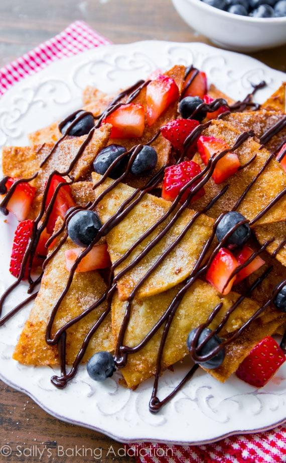 Dessert-Nachos