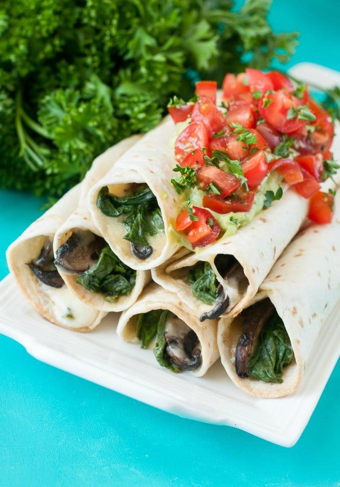 baked-spinach-portobello-flautas-mozzarella-guacamole-recipe-680-0261