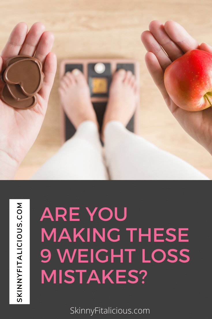 Are you making these 9 weight loss mistakes? Weight loss is more than calories and exercise. Eating for your hormones, making too many changes and more!