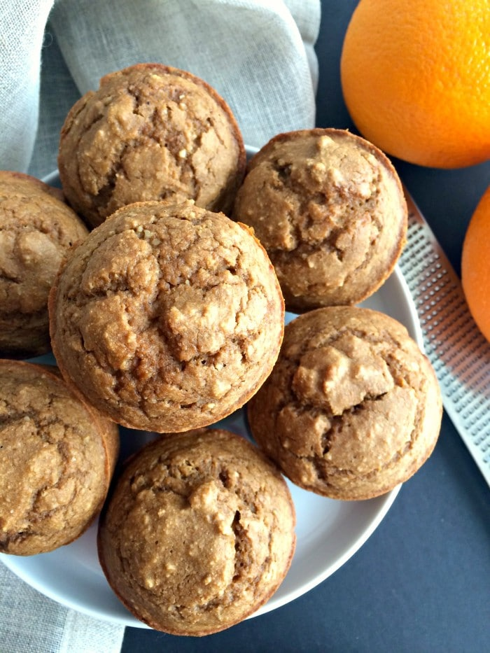 Orange Almond Muffins - Skinny Fitalicious