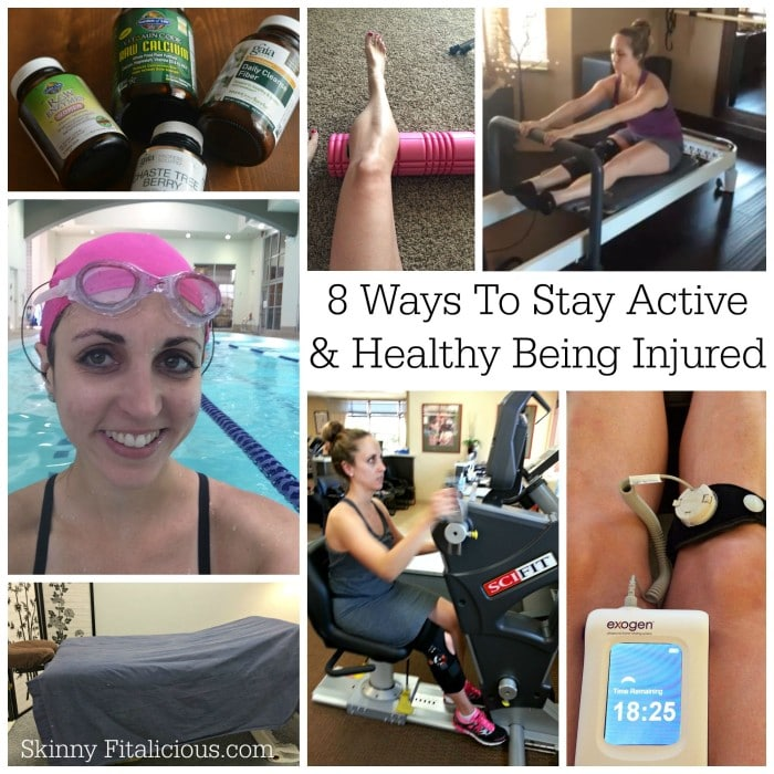 8 Ways To Stay Active & Healthy Being Injured