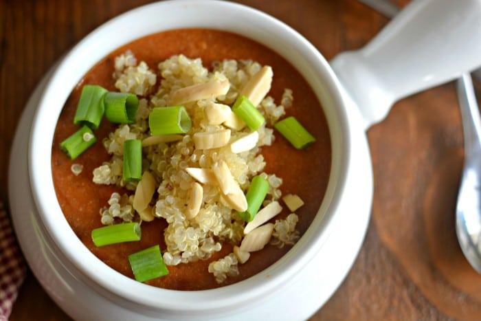 Tomato Peanut Soup