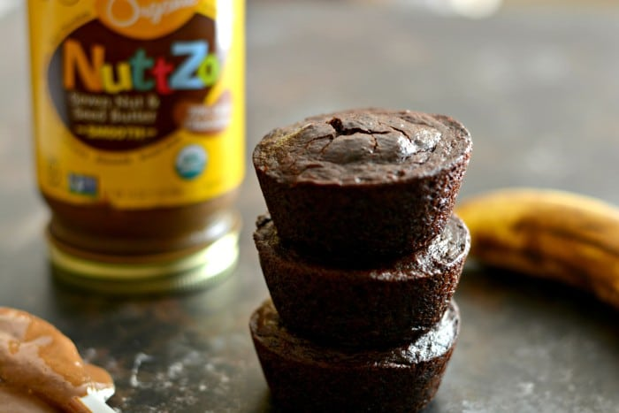 Flourless Double Chocolate Super Seed Muffins