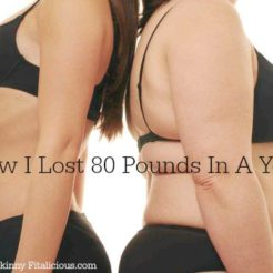 How I Lost 80 Pounds
