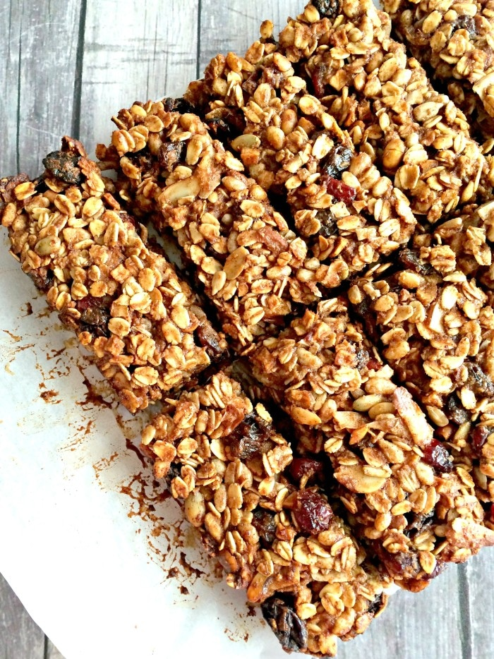 Muesli Banana Hemp Bars