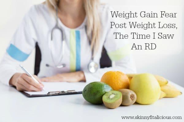 Weight Gain Fear