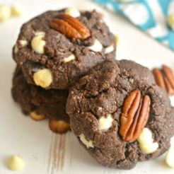 Grain Free White Chocolate Pecan Cookies