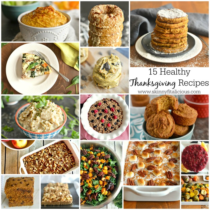 15 Healthy Thanksgiving Recipes