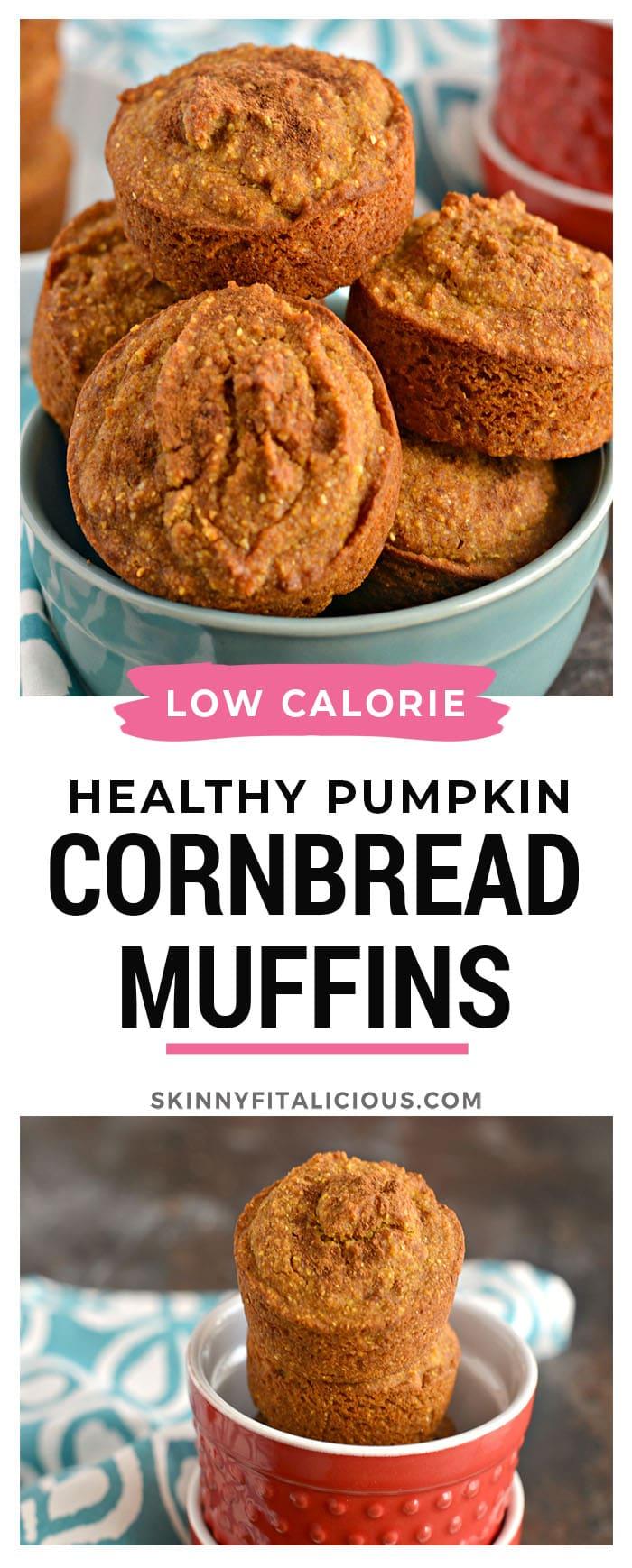Skip the bread roll and pass the cornbread! These gluten free, vegan friendly Pumpkin Cornbread Muffins are denseand chewy thanks to its hiddenpumpkin ingredient.