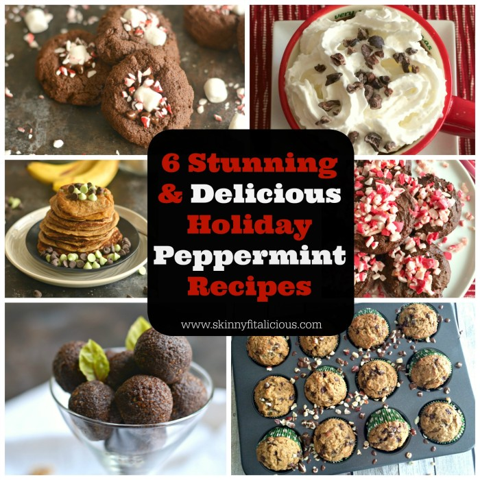 Peppermint Recipes Holidays