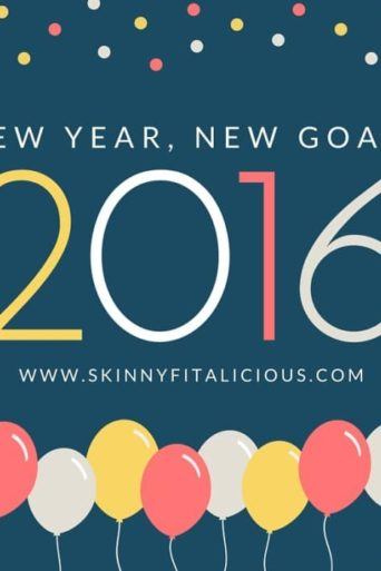 New Year, New Goals + 2016 Inspiration Board