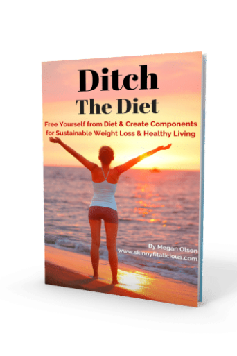 WAIW…My NEW eBook Ditch The Diet AVAILABLE NOW!