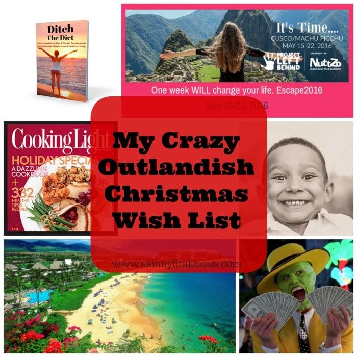 Crazy Christmas Wish List