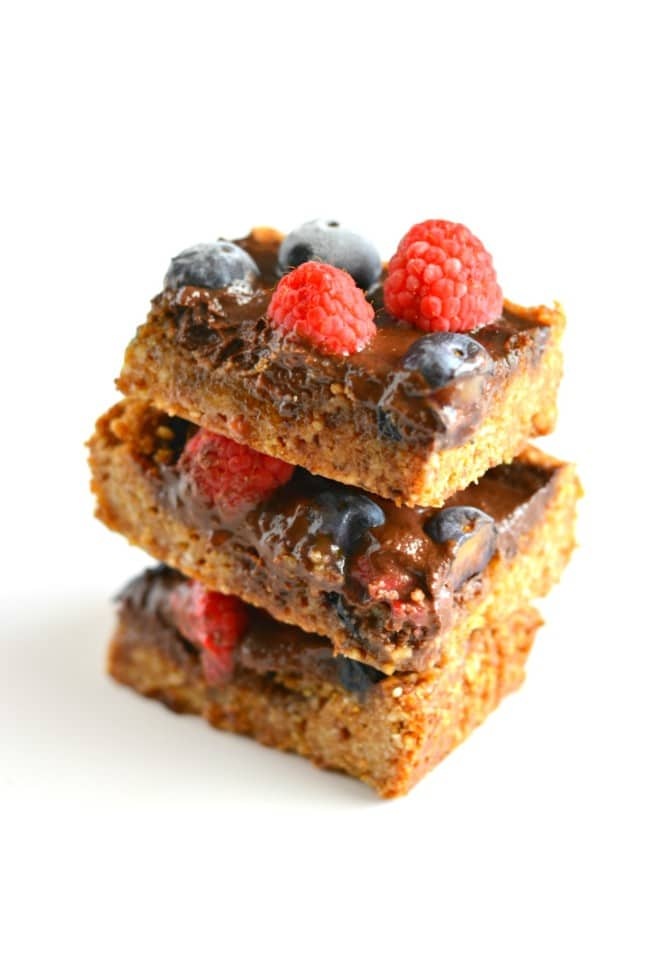 Chocolate Berry Bars