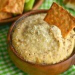 Garlic Parmasean Hummus