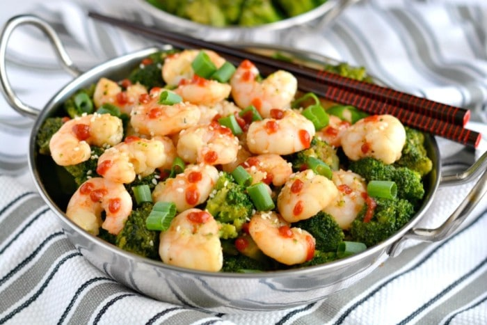 Shrimp & Broccoli Stir Fry
