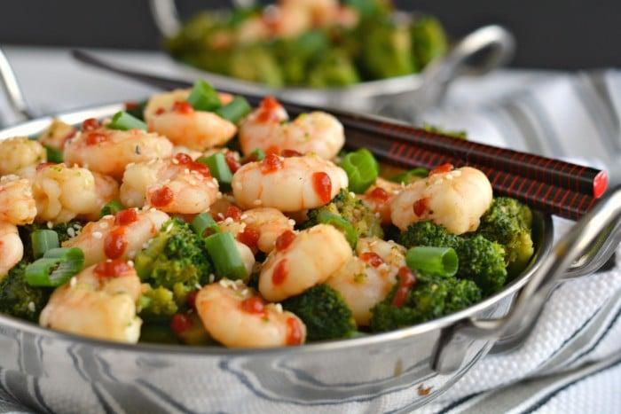 Shrimp Broccoli Stir Fry