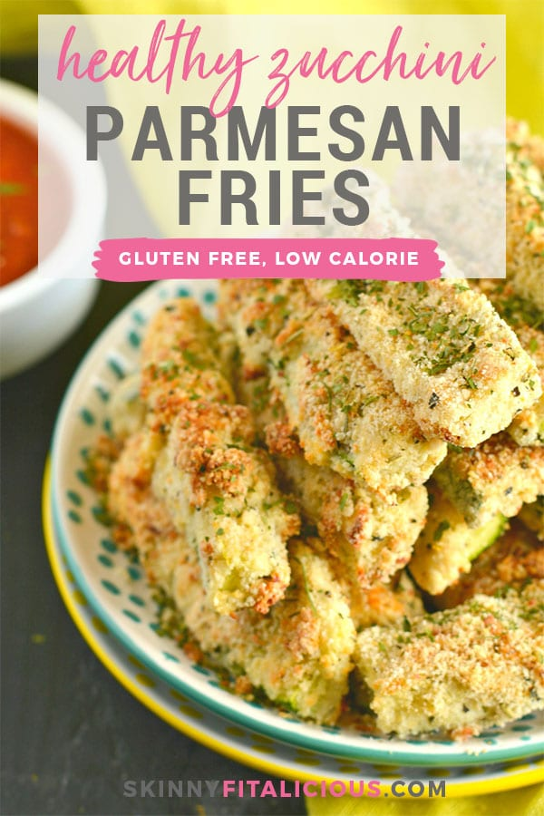 A super easy recipe for Paleo Baked Zucchini Parmesan Fries. Made with almond and coconut flour, this is a flavorfulappetizer or side dish everyone will love! Gluten Free + Low Calorie
