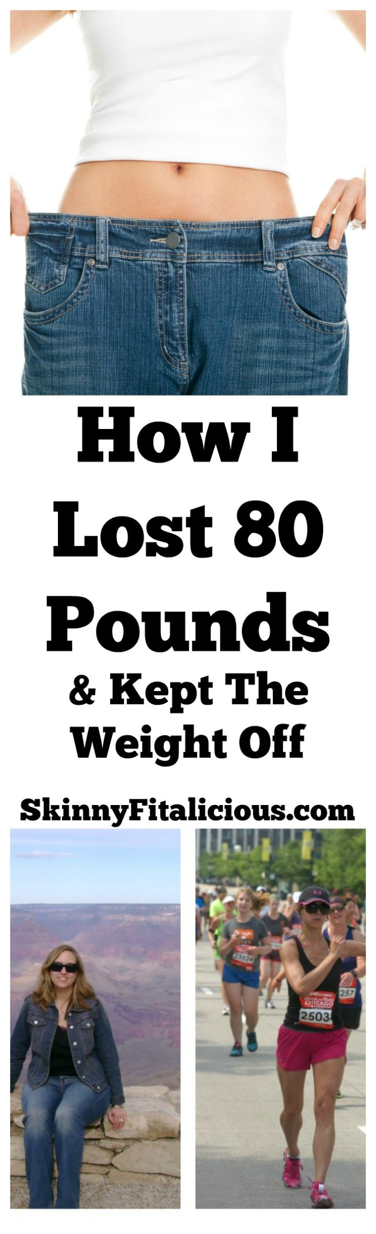 How I Lost 80 Pounds In A Year - Skinny Fitalicious