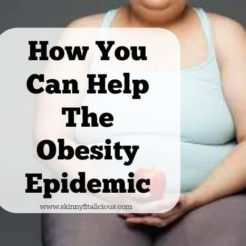How You Can Help The Obesity Epidemic