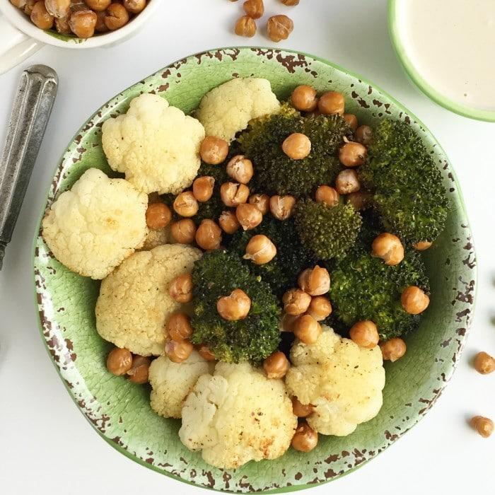 Cauliflower & Broccoli Buddha Bowl