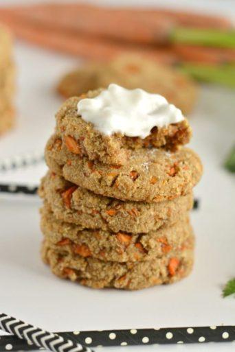 Paleo Carrot Cake Cookies {GF, Paleo, Low Cal, Vegan}