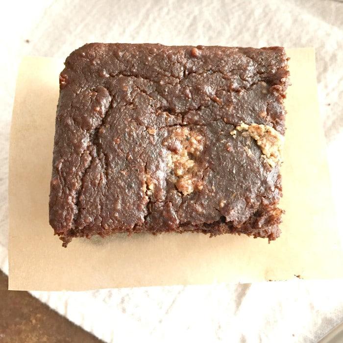 Zucchini Chocolate Espresso Brownie